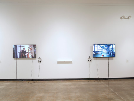 Diligent Machine, Nao Nishihara, 2019 (R); Twins Performance Project, Lucie Vítková + stevie may, 2017 (L)