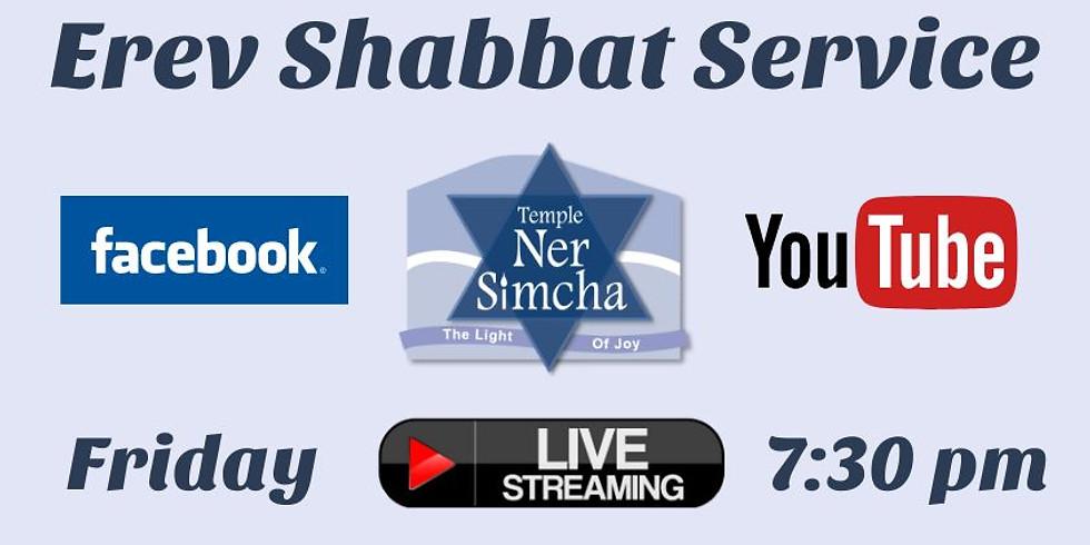 Erev Shabbat Service