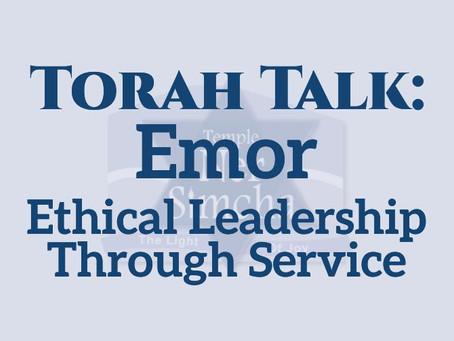Emor - Ethical Leadership Through Service