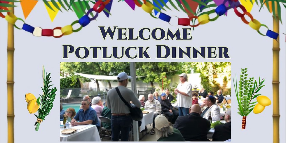 Welcome Potluck Dinner
