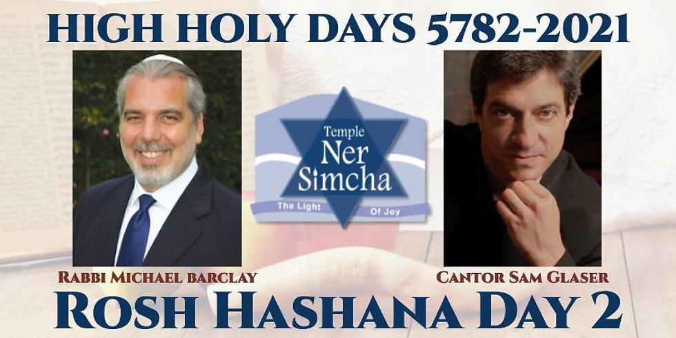 Rosh Hashana Day 2