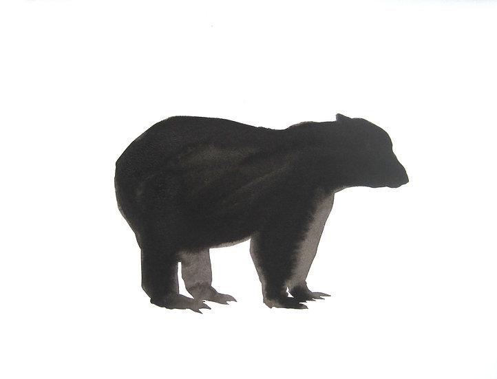 Frank Jan v. d. Laan , BEER 1, 2013, 32 x 43 cm.