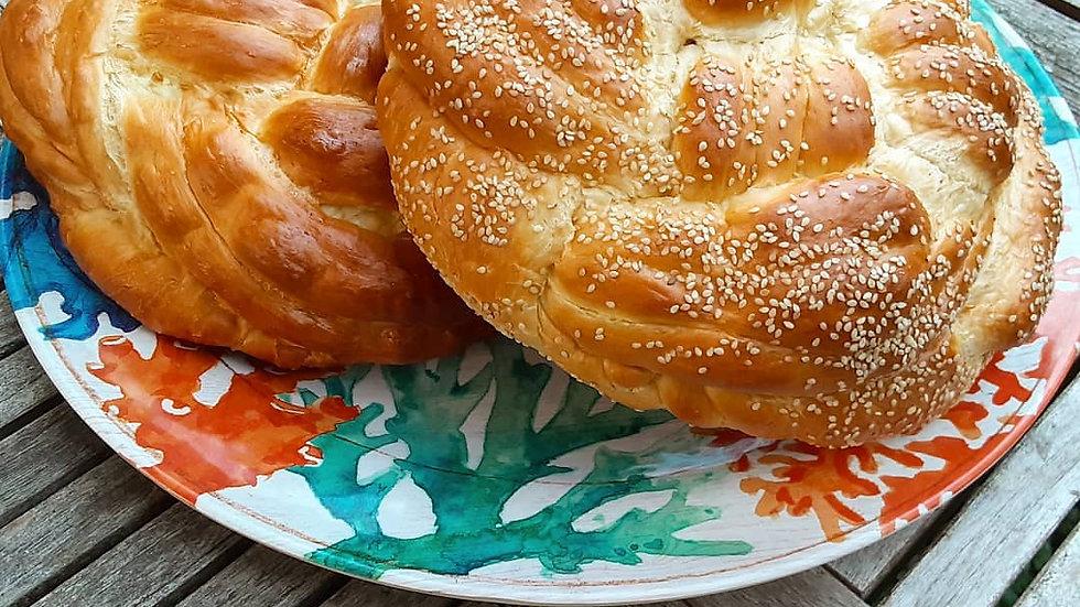 Challah Mini Loaves - Smoked Sesame
