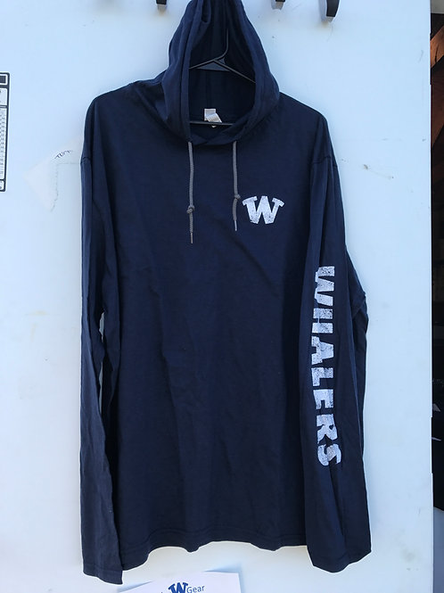 Whaler Distressed Long Sleeve T Hoodie
