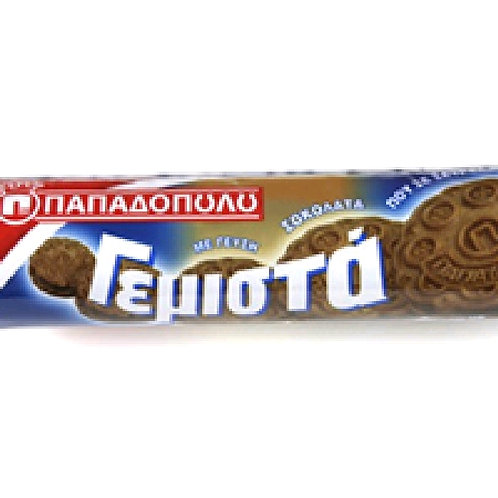 Gemista Chocolate filled Biscuits Papadopoulou 200 gr