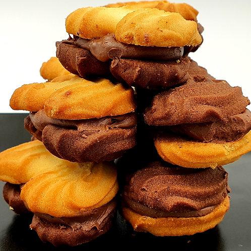 COOKIES - Vanilla & praline cookies 10pcs