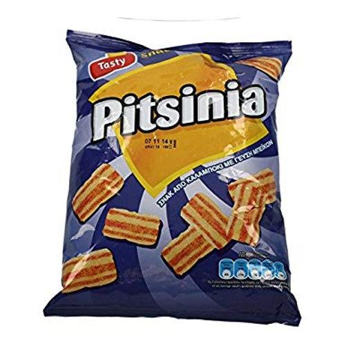 Pitsinia bacon-flavoured corn snack 110gr Tasty