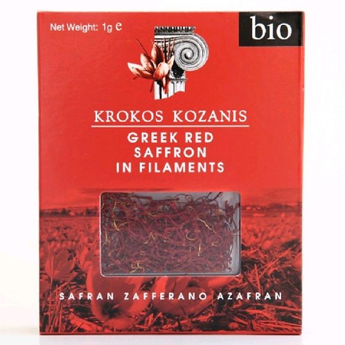 Krokos Kozanis - Red Organic Saffron Spice 1gr