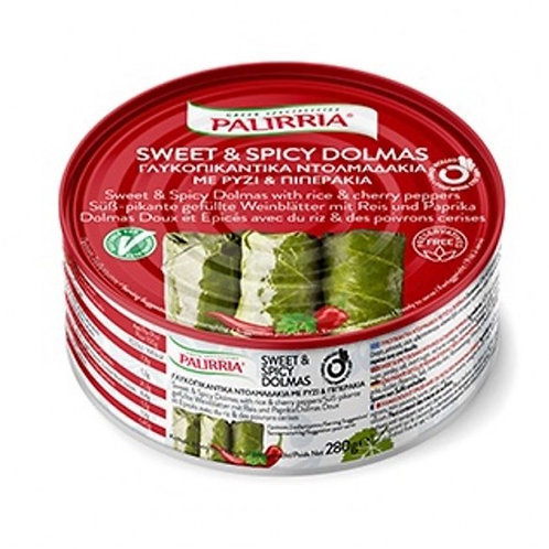 Ready meals -  Sweet and Spicy Dolmades 280gr Palirria