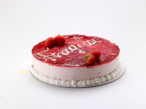 STRAWBERRY - Celebration cake from Crete island