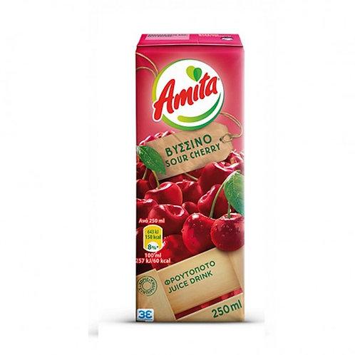 Amita Sour Cherry Fruit Juice 250ml