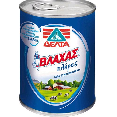 Vlachas Evapored Unsweetend Milk 388ml