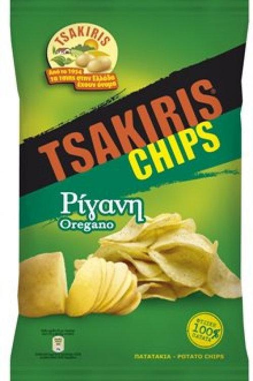 Potato Crisps with Oregano - Tsakiris Chips