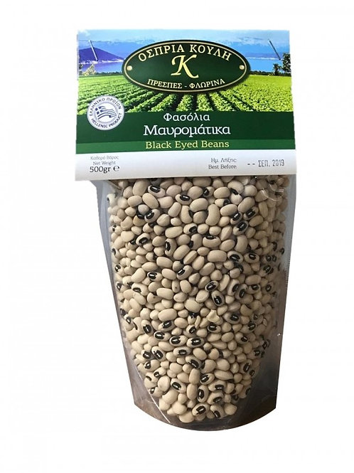 Black eye beans 500 gr - Mavromatika