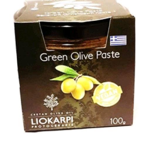 Green olives paste 100ml Liokarpi