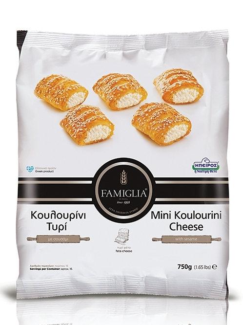 KOULOURINI FETA - Mini Feta Cheese Bites With Sesame 750gr