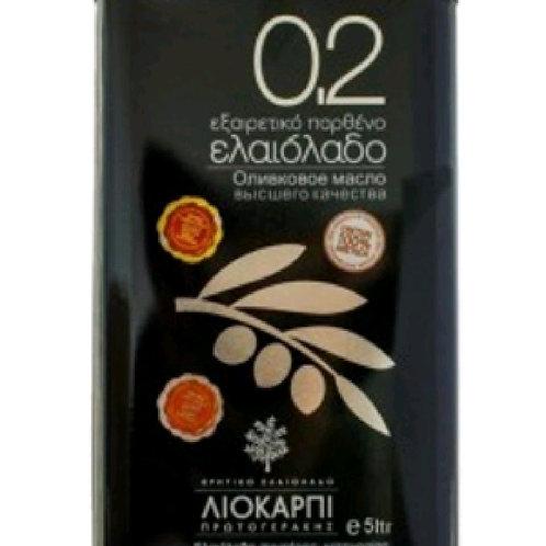0.2 Cretan Liokarpi extra virgin olive oil 5lt