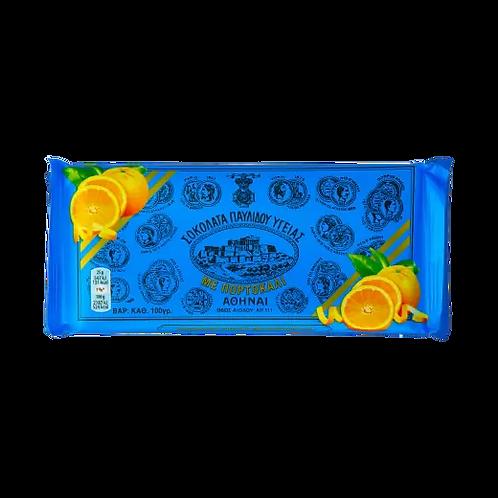 Pavlidis Dark Chocolate with Orange Ygeias 100gr
