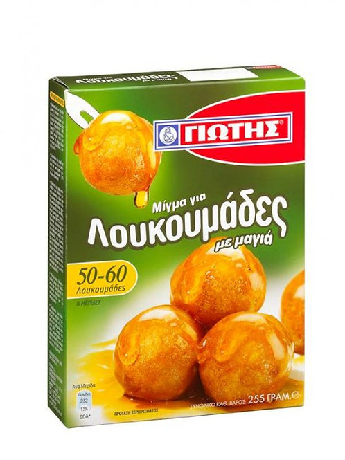 Loukoumades Doughnut Puffs Mix Jotis 255gr