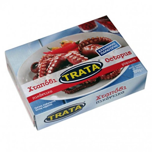 Spicy octopus in tomato sauce 100gr Trata