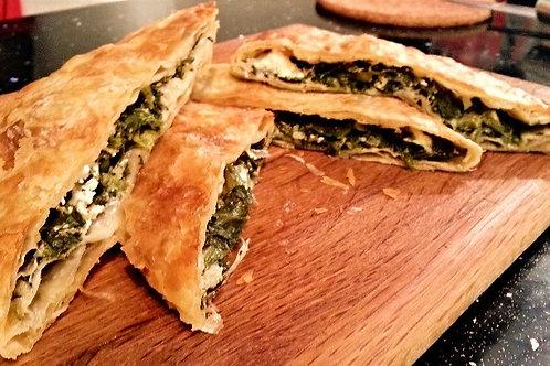 BOUGATSA SPANAKI & FETA- pie with spinach and feta cheese 490gr