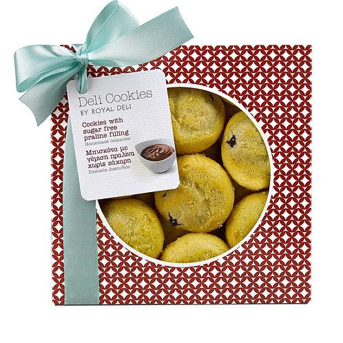COOKIES - Praline sugar free filled cookies 300gr
