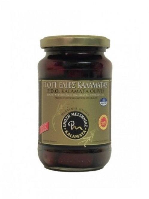 Kalamata PDO Olives 370ml - Messinia Union