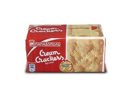 Wheat Cream Crackers 140gr