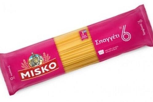 Misko pasta - No6 Spaghetti 500gr