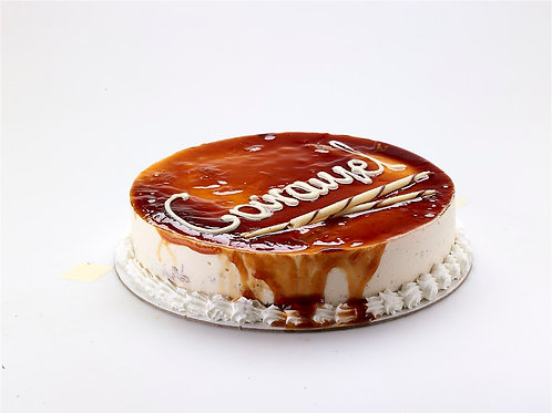 CARAMEL cake from Crete island