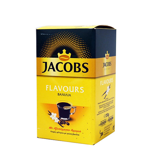 Jacobs Filter Coffee with Vanilla Flavour 250gr
