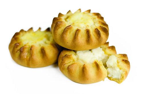 LYCHNARAKI - Cretan vanilla cheese mini pies 8pcs