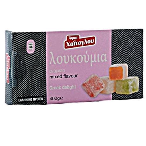Loukoumia - Greek Delights Mixed Flavours 400gr