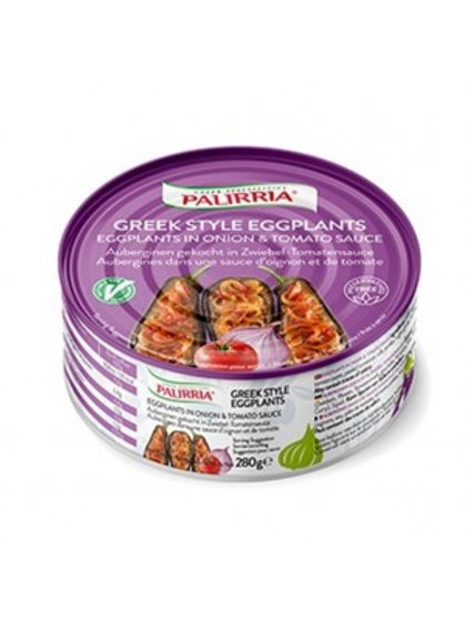 Ready meals - Greek style eggplants 280gr Palirria