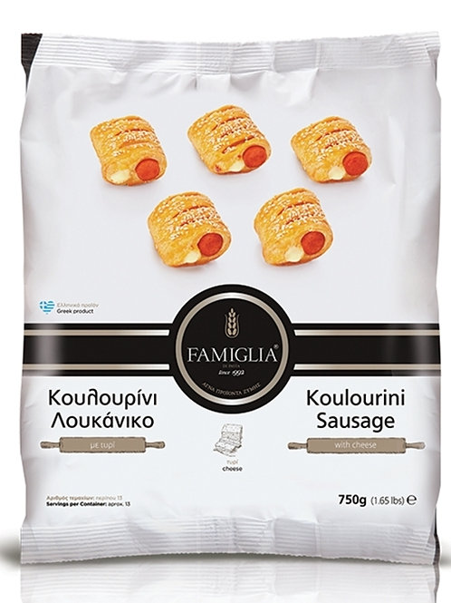 KOULOURINI SAUSAGE - Mini Sausage Bites With Sesame 750gr