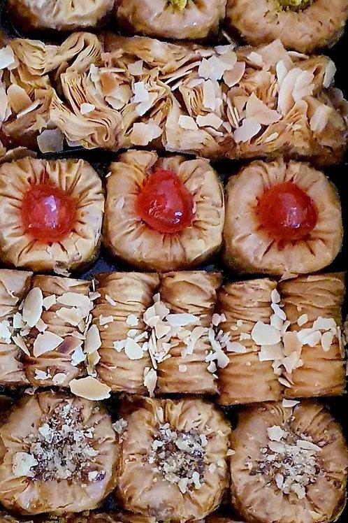 SWEET BITES - baklavadaki, kataifi, saraigli & walnuts nests 500gr