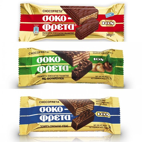 ION Sokofreta Chocolate Wafer Bar