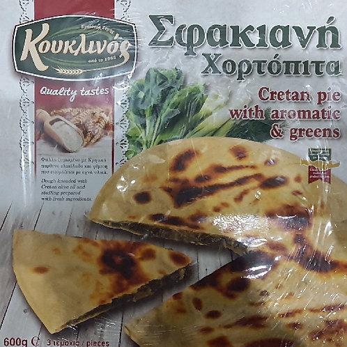 Voskopita spinach & aromatic greens 3x200gr