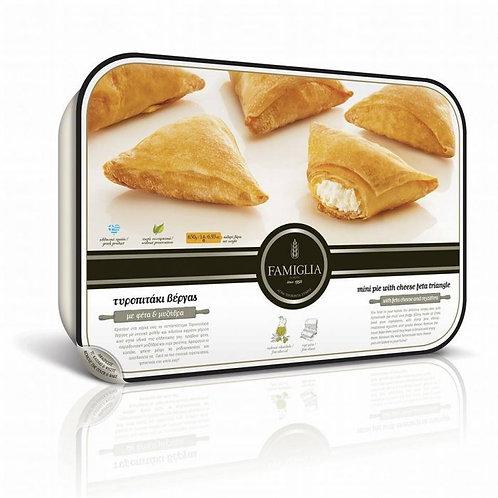 MEDIUM VERGAS TIROPITAKIA - Feta Cheese Pies 450gr