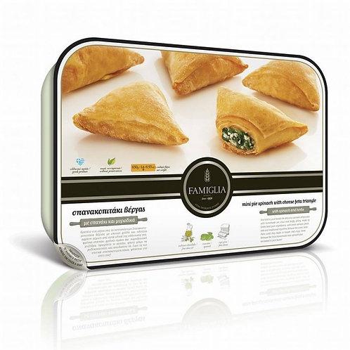 SPANAKOPITAKIA - Phyllo mini spinach & feta cheese pies 650gr