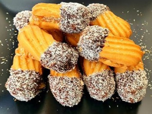 COOKIES - Apricot filled with praline & coconut 10pcs