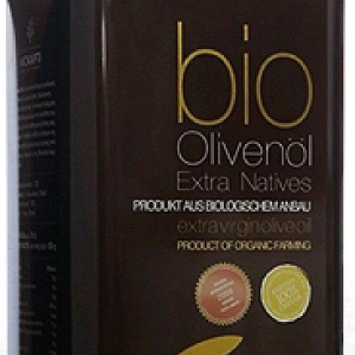 Cretan Liokarpi Organic Extra Virgin Olive Oil 5lt