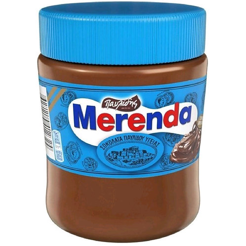 Merenda Dark Chocolate Spread Ygeias 360gr