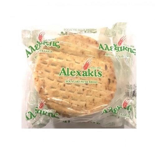 PITA BREAD - Pita bread for souvlaki 17cm (pack of 10)