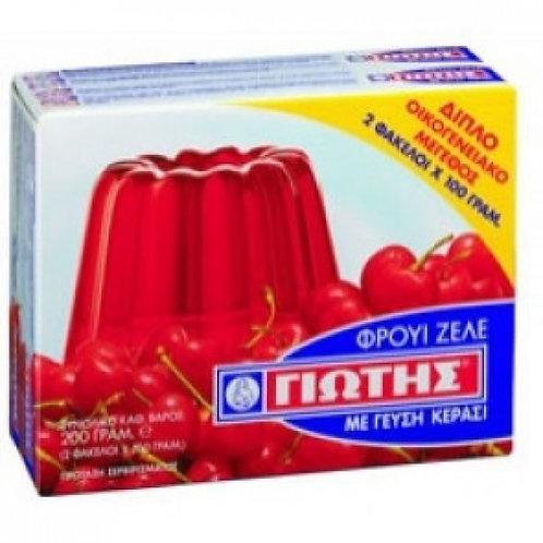 Fruit Zele Cherry 200gr Yiotis