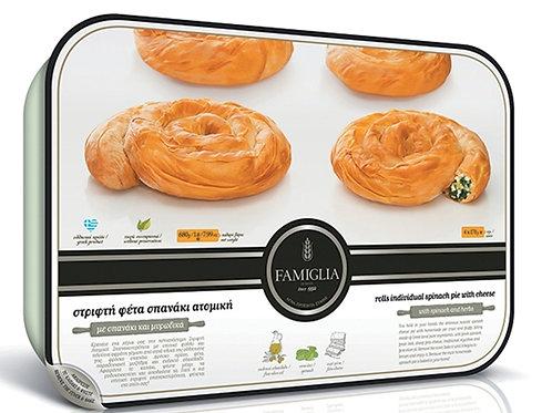 MINI TWIST SPANAKOPITA 4pcs - Spinach And Cheese Pie 680gr