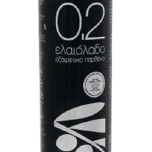 0.2 Cretan Liokarpi extra virgin olive oil 1ltr