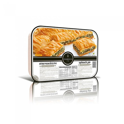SPANAKOPITA -  Traditional spinach pie with feta 1kg