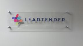 acrylic logo