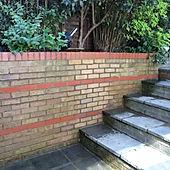 Garden wall repairs